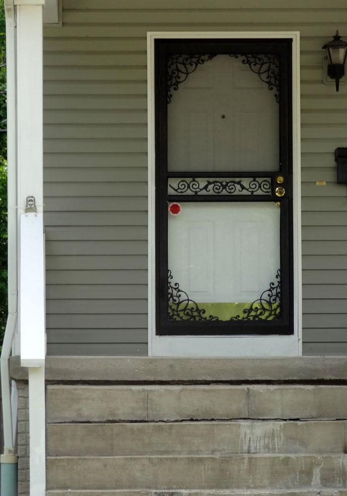 Superb Steel Security Screen Amp Storm Door Front Doors Cleveland Door Handles Collection Dhjemzonderlifede
