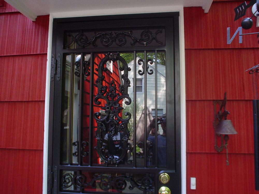 Steel Security Screen Storm Door Front Doors Cleveland Columbus