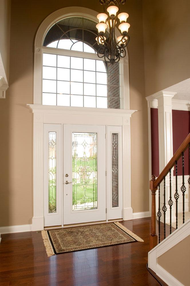 Foyer Window Replacement Cost : Steel front back side door entry doors cleveland