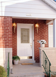 benefits of an exterior steel front side or back door