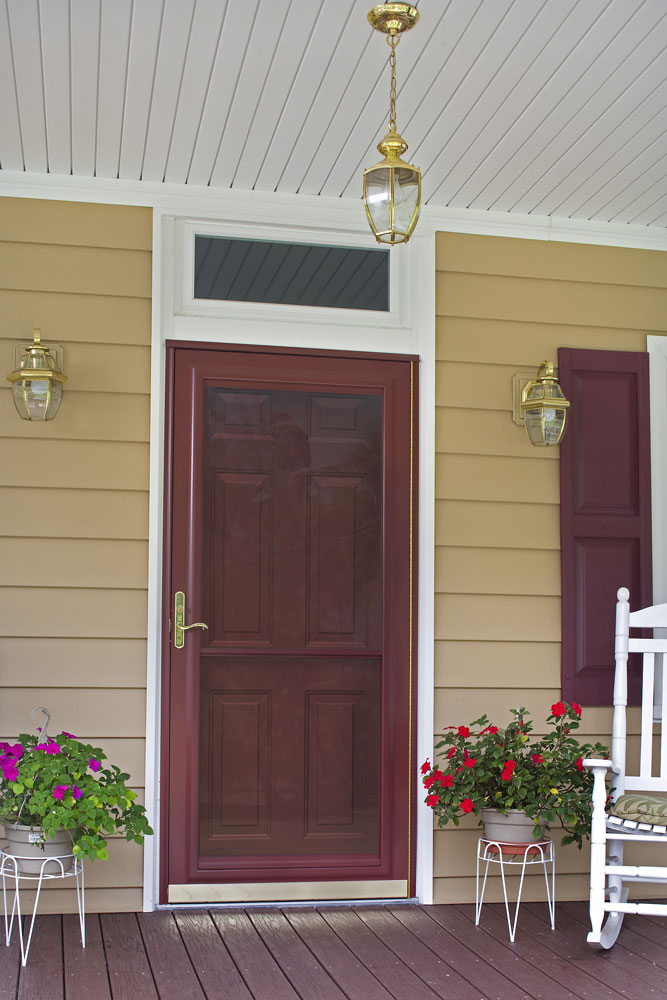 Doors With Screen: Storm & Screen Door, Larson Provia Doors Cleveland