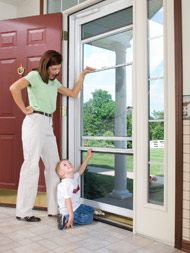 home storm door replacement