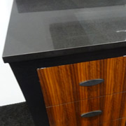 bathroom cabinetry that looks like furniture