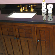 traditional style bathroom cabinets in cleveland