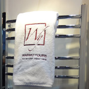 towel warmer used for comfort and convenience in a bath remodel