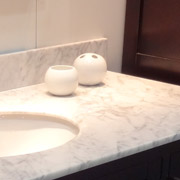 bathroom countertop using a marlbe surface in cleveland