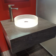 contemporary bathroom sink and vanity in cleveland