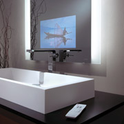 digital technology being used in a bath remodel