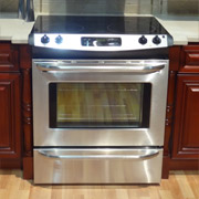stainless steel stove in a cleveland kitchen