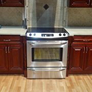 stainless steel kitchen appliance in a newly remodeled kitchen