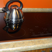 induction style kitchen cooktop