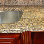 luxury quartz countertop in a kitchen remodel