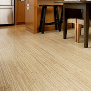 sustainable flooring in a kitchen project