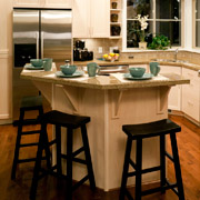 kitchen islands for improved use of space