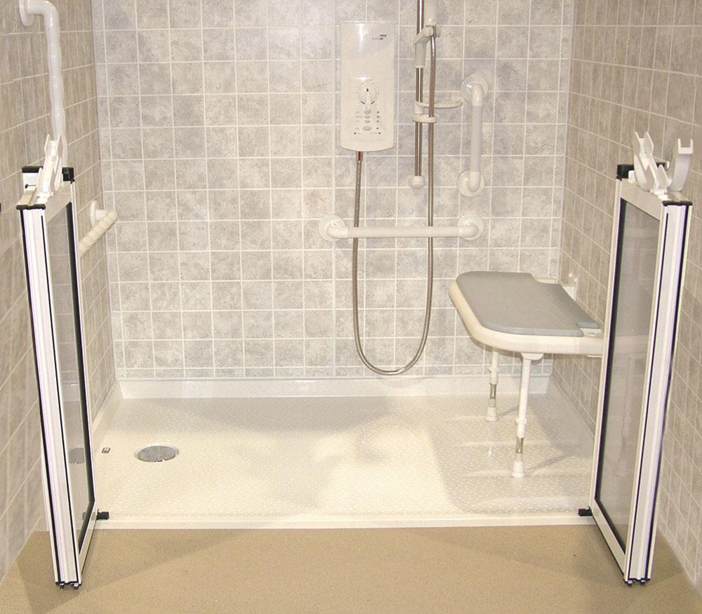 Handicap Bathroom Stall  Dactus -  bathroom remodel for handicapped people