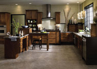 Universal and accessible Design Kitchen in cleveland