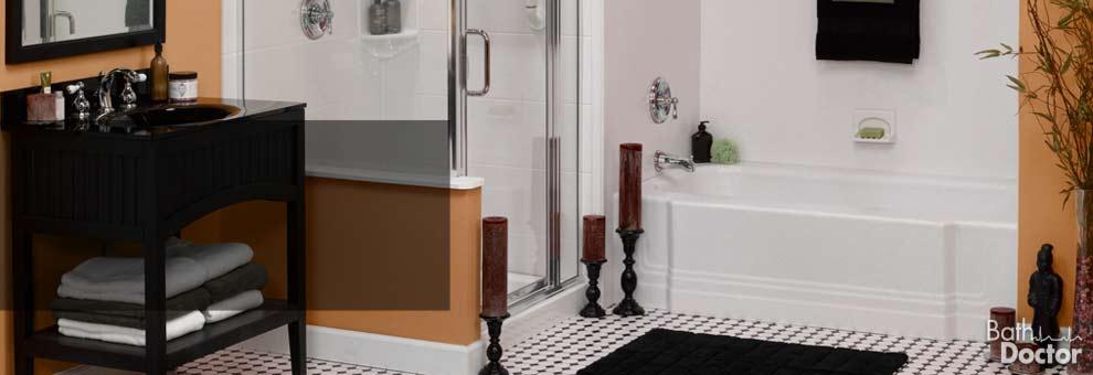 Home Remodeling Amp Renovation Glass Block Bathroom