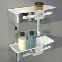 Double Shower Shelf