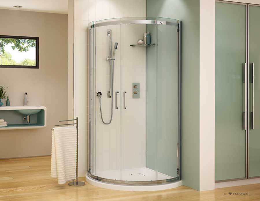 Contemporary acrylic shower pans