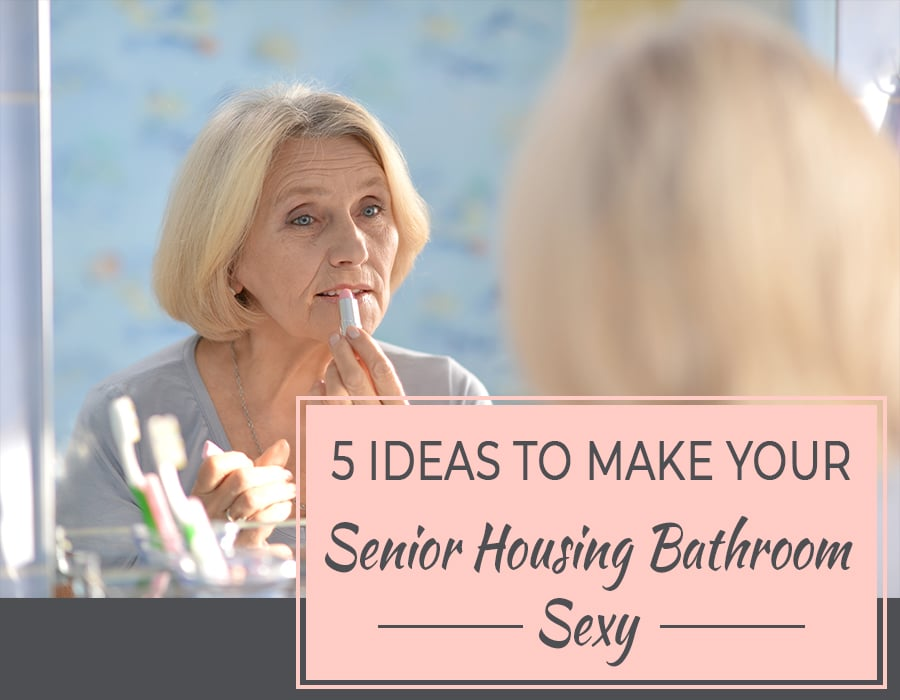 Opening - ideas to make senior housing bathroom sexy | Innovate Building Solutions | Senior Housing | #BathroomRemodel #SeniorHousing #BathroomIdeas