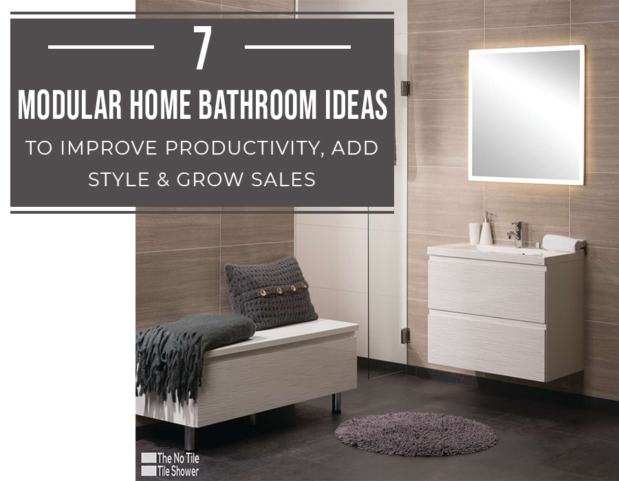 Opening - modular home bathroom ideas | Innovate Building Solutions | Innovate Multi Unit | Modular Homes | #ModularHomes #PreFabHomes #BathroomIdeas