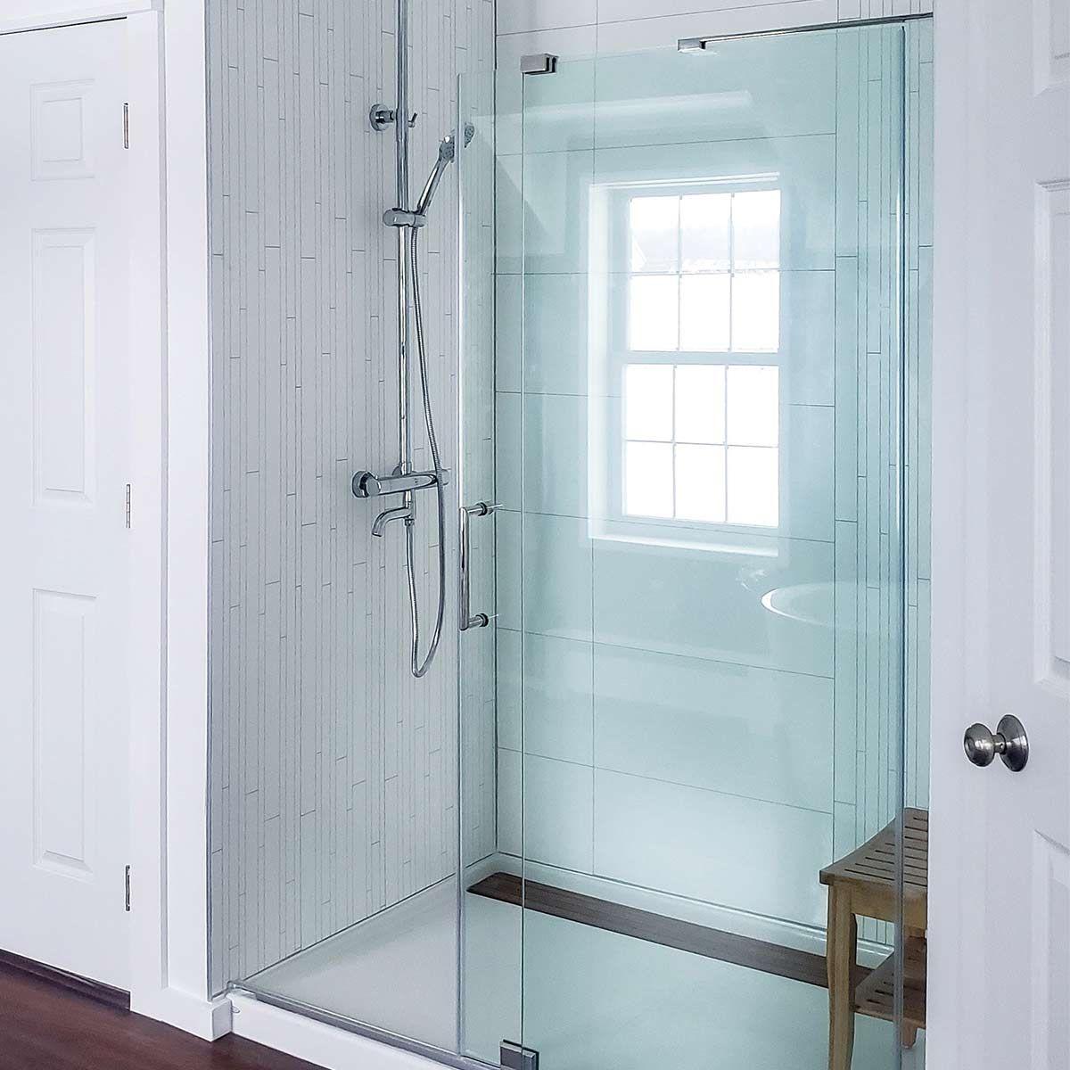 Waterproof Laminate Bathroom Shower, Waterproof Paneling For Bathrooms