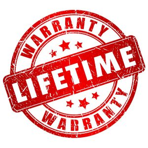 Lifetime warranty on glass block windows and walls from Columbus Glass Block